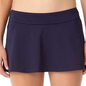 Anne Cole Rock Bottom Swim Skirt with bottoms
